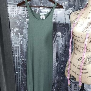 Green Tank Dress Ladies XS